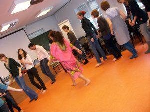 Beth Firmino (2010), Workshop. Instituto Iberystyka, Universidad de Varsovia, Polonia.